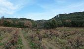 Randonnée Marche SAINT-HILAIRE-D'OZILHAN - La Grand Combe St Hilaire d'Ozilhan - Remoulins - Photo 3