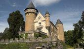 Randonnée Marche BUSSET - Rando du château de Busset - Photo 2