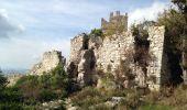 Randonnée Course à pied CHATEAUNEUF-VILLEVIEILLE - Chateauneuf ruines - Photo 1