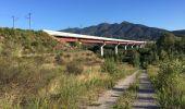 Randonnée Marche BANYULS-DELS-ASPRES - 66 LE BOULOU - plans, pla et hameau de NIDOLÈRES, noeud autoroutier ferroviaire  - Photo 6