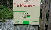 Randonnée Marche SAINT-PRIEST-DES-CHAMPS - La Maziere  - Photo 2