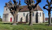 Randonnée Marche VILLENEUVE-LA-DONDAGRE - Villages du Gâtinais en Bourgogne - Photo 4