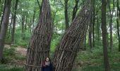 Randonnée Marche Gesves - GESVES-village de HAUT-BOIS-Sentier d'art dans la nature - Photo 2