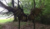 Randonnée Marche Gesves - GESVES-village de HAUT-BOIS-Sentier d'art dans la nature - Photo 3