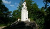 Randonnée Marche ROQUEFIXADE - 02 - ROQUEFIXADE à MONTSEGUR -  Chemin des Bons-Hommes GR107 ou sentier cathare 367 - Photo 11