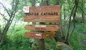 Randonnée Marche ROQUEFIXADE - 02 - ROQUEFIXADE à MONTSEGUR -  Chemin des Bons-Hommes GR107 ou sentier cathare 367 - Photo 4