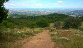 Trail Nordic's walk CHATEL-GUYON - Petit trekking à Rochepradiere.  - Photo 1