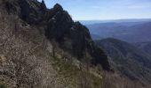 Randonnée A pied ROCLES - 07 Mont AIGU  04-04-17 - Photo 15
