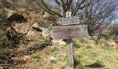 Randonnée A pied ROCLES - 07 Mont AIGU  04-04-17 - Photo 14