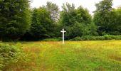 Trail Walk SAINT-JEAN-AUX-BOIS - en forêt de Compiègne_4_le vivier Corax_la Croix St-Sauveur - Photo 22