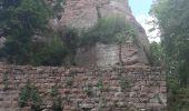 Randonnée Marche GRENDELBRUCH - Le Guirbaden, le plus grand des châteaux forts - Photo 15