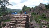 Randonnée Marche GRENDELBRUCH - Le Guirbaden, le plus grand des châteaux forts - Photo 10