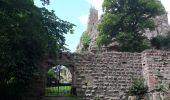 Randonnée Marche GRENDELBRUCH - Le Guirbaden, le plus grand des châteaux forts - Photo 6