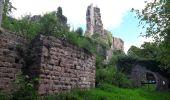 Randonnée Marche GRENDELBRUCH - Le Guirbaden, le plus grand des châteaux forts - Photo 5