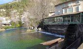 Randonnée Marche SAUMANE-DE-VAUCLUSE - Fontaine de Vaucluse  Canal - Photo 2