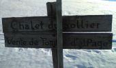 Randonnée Marche BELLECOMBE-EN-BAUGES - Mont Derrière-ch. du Sollier - Photo 4
