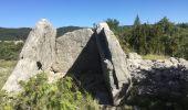 Trail Walk SAINT-PAUL-LE-JEUNE - 07 Résurgence de cotepatiere ( cocalhere) 17-04-18 - Photo 1
