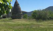 Trail Walk SAINT-PAUL-LE-JEUNE - 07 Résurgence de cotepatiere ( cocalhere) 17-04-18 - Photo 7