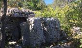 Trail Walk SAINT-PAUL-LE-JEUNE - 07 Résurgence de cotepatiere ( cocalhere) 17-04-18 - Photo 8