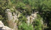 Trail Walk SAINT-PAUL-LE-JEUNE - 07 Résurgence de cotepatiere ( cocalhere) 17-04-18 - Photo 9