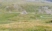Randonnée Marche SEEZ - hospice petit saint Bernard . lac dans fond . la parciere . hospice - Photo 3