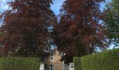 Randonnée Marche Rochefort - Croix du chariot vers Chapelle reine Astrid  - Photo 2