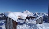 Trail Nordic skiing ALLEVARD - tricotage crête des Plagnes - Photo 4