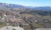 Randonnée Marche CHATEAUNEUF-DE-CHABRE - CHATEAU NEUF DE CHABRE 05 . Piloubeau , les cretes de Chabre o s - Photo 2