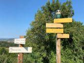 Point d'intérêt COURZIEU - panneau de rando - Photo 1