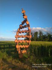 Point d'intérêt Gesves - SENTIER D'ART - THE MACROMOLECULE - Photo 1
