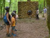 place Somme-Leuze - L'Artbri cuubique Oeuvre Abri artistique Sentiers d'art  - Photo 1