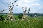 place Somme-Leuze - Oeuvre Sentiers d'art    - Photo 1