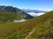 place SERS - Photo du sentier vers le col d'Aube  - Photo 1