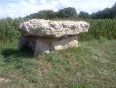 place MARCILLY-LE-HAYER - Dolmen des Blancs Fossés - Photo 1