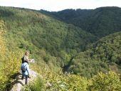 Point d'intérêt La Roche-en-Ardenne - La vue vers la vallée - Photo 1