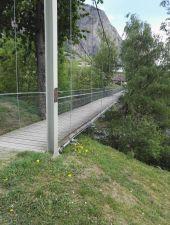 Point d'intérêt Chamoson - pont suspendu - Photo 1