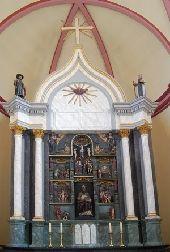 place Daverdisse - Eglise Saint-Pierre et son retable du XVIème siècle - Photo 1