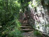 place OTTROTT - 11 - Sentier des Merveilles, un escalier sous le Mur Païen - Photo 1