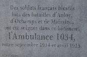 place Saint-Hubert - 6. L'Ambulance 1034 - Photo 1