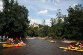 place Houyet - Descente de la Lesse en kayaks - Photo 3