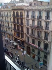 place Barcelona - hotelroom view hotel Jazz.  - Photo 1