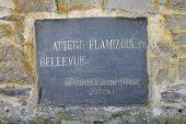 Point d'intérêt Tenneville - Plaque en schiste - Photo 1