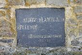 place Tenneville - Plaque en schiste - Photo 1