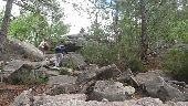 Point d'intérêt NOISY-SUR-ECOLE - 03 - Grimpette à la Roche au Four - Photo 1