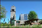 place Sainte-Ode - Place du village d'Houmont, église - Photo 1