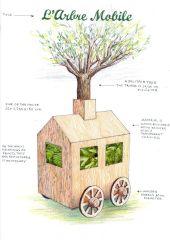 Point d'intérêt Gesves - L'arbre mobile (2017) - Photo 1